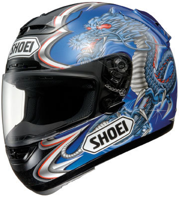 SHOEI X-11 KIYONARI TC2 BLUE